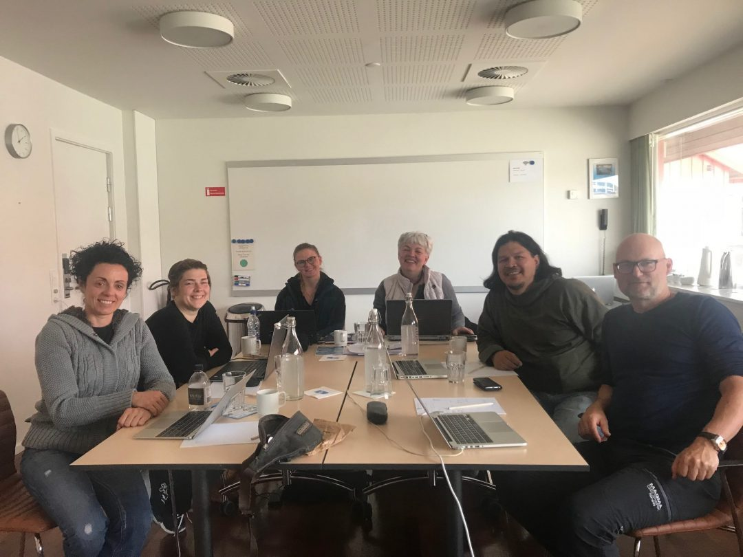 GEOmuseum project meeting in Ilulissat Greenland