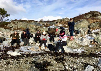 6th ESTEAM partner meeting in Magma Geopark
