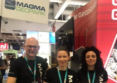 MAGMA UNESCO Global Geopark participated at ITB Berlin 2019