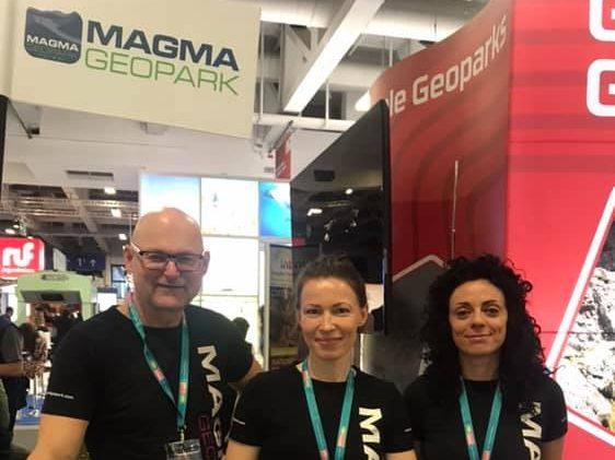 MAGMA UNESCO Global Geopark deltok på den internasjonal turistmessen ITB i Berlin