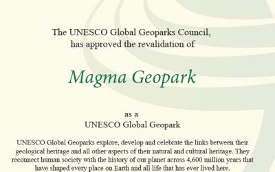 MAGMA GEOPARK GREEN CARD