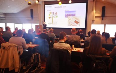 Seminar on Geoturism at Stord presenting RURITAGE