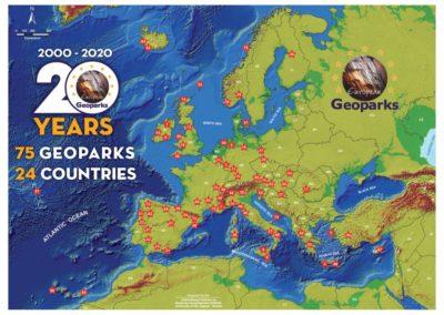 European Geopark Network celebrates 20 years