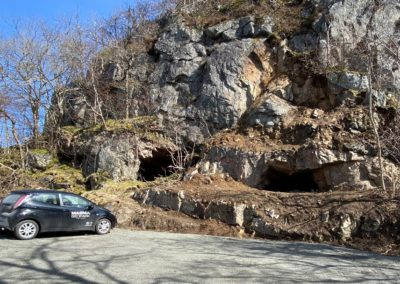 Old mining site at Hidra open for visitors