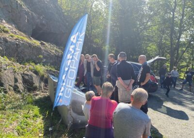 Old Urstad mining site opened on Geology day