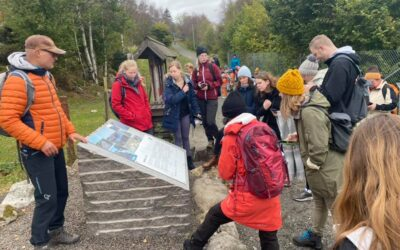 Guided tour thought the Pilgrim Route crossing the Geopark